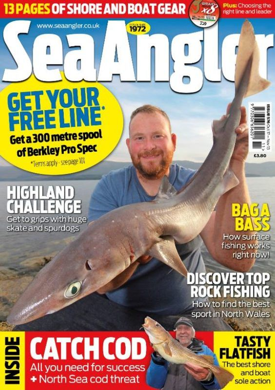 Sea Angler Issue 576 Fishing Magazines Sea Fishing Kayak Fishing