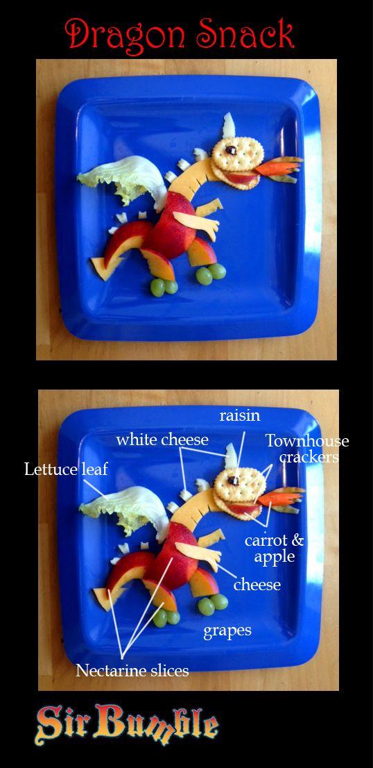 Fun with Food Fridays: Dragon snack attack   Mixedupalot