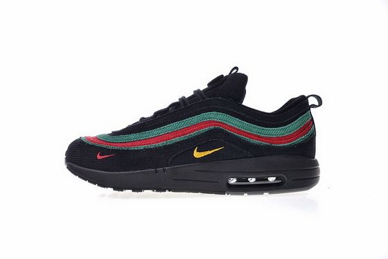 Gucci X Sean Wotherspoon X Air Max 1 97 Vf Sw Hybrid Aj4219036 Black Mulicolor Hot Sell Shoe Jordan Shoes Retro Nike Shoes Air Max Nike Air Max 97