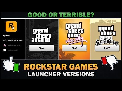 Gta The Trilogy Are Rgl Versions Worth It Feat Badgergoodger Youtube Gta Rockstar Games Trilogy