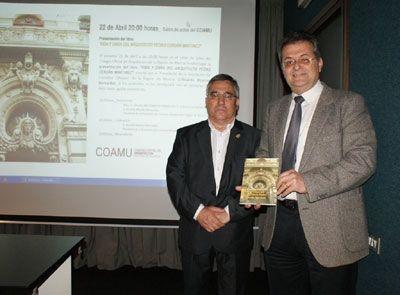 Homenaje al autor del Casino de Murcia