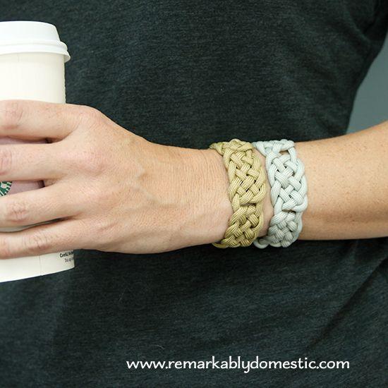 Basket Weave Paracord Bracelet Tutorial : Diy basket weave paracord bracelet by beth this is a