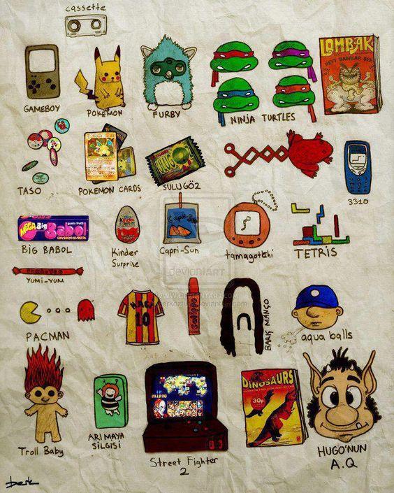 90'larda çocuk olmak