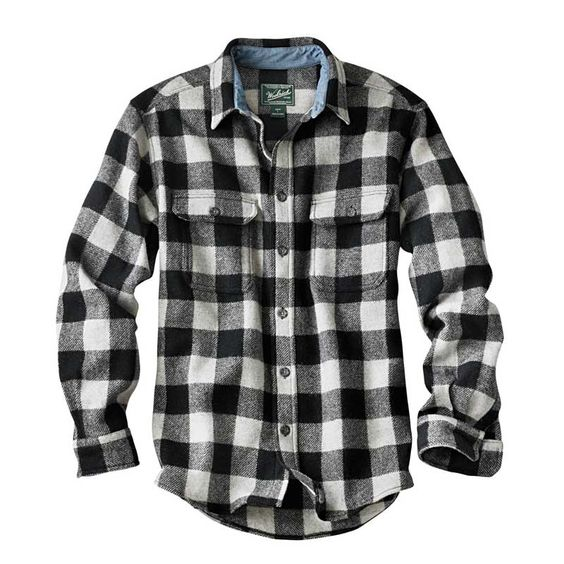 Black White Check Shirt | Is Shirt