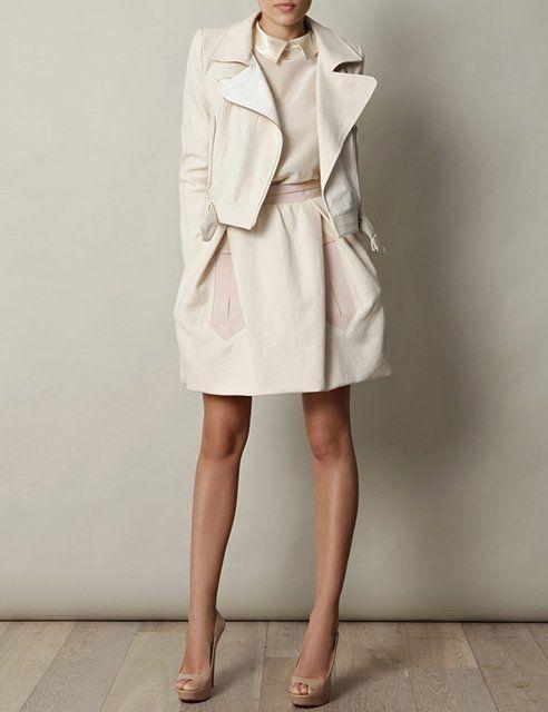 Cotton Biker Jacket by Carven