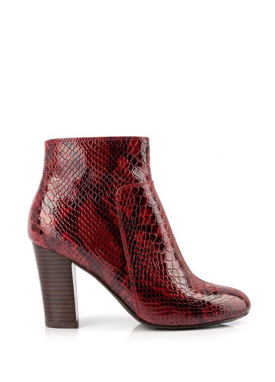 Chaussure A Talon Bordeaux