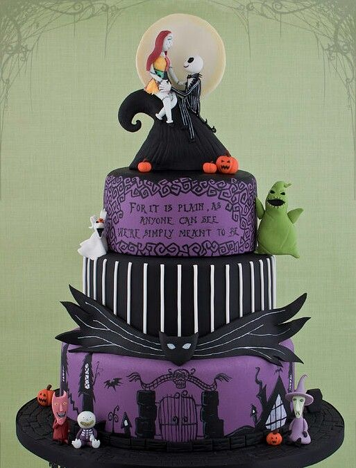 tim burton the nightmare before christmas jack and sally
