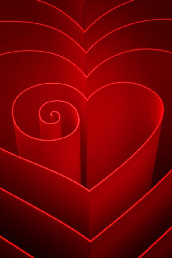 Espiral de corazón...
