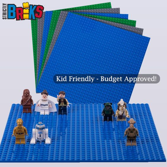 Affordable LEGO® compatible baseplates. Build, Construct, Create!