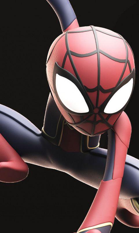 Download 480x800 Wallpaper Spider Man 3d Artwork Jump Marvel Nokia X X2 Xl 520 620 820 Samsung Galaxy Star Spiderman Superhero Wallpaper Marvel Photo
