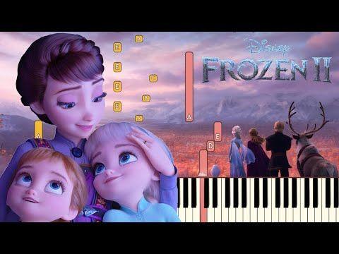 All Is Found Evan Rachel Wood Frozen 2 Piano Tutorial