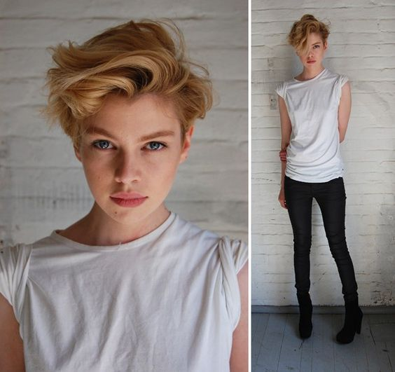 Stella Maxwell, this hair <3: