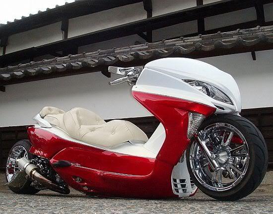 Custom Japanese Scooters Mod Honda Ruckus Pinterest