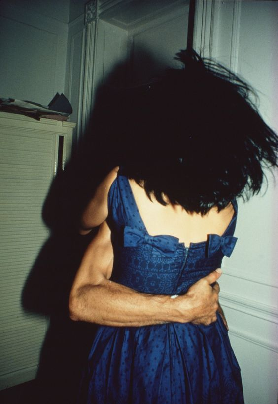 Nan Goldin The Hug, NYC, 1980