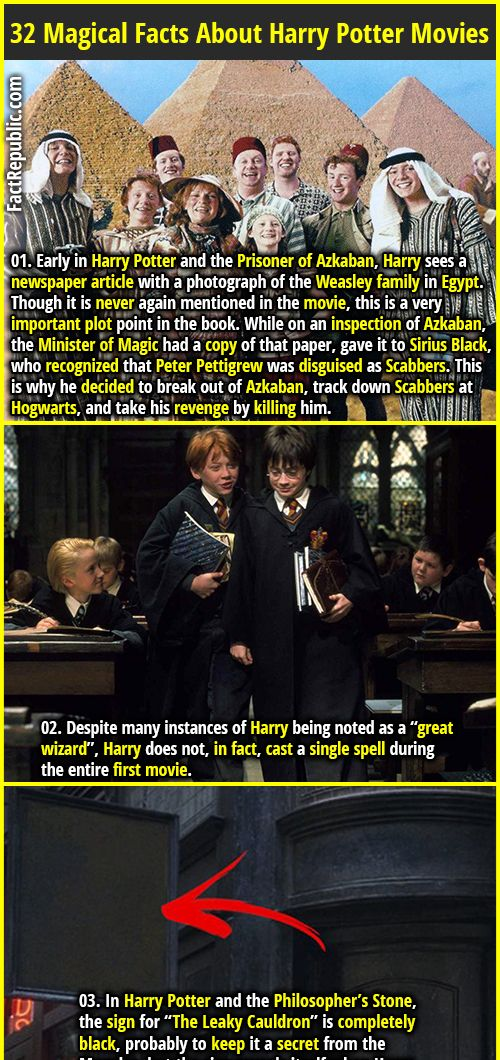 32 Magical Facts About Harry Potter Movies Part 5 Fact Republic Harry Potter Facts Harry Potter Movies Harry Potter Newspaper