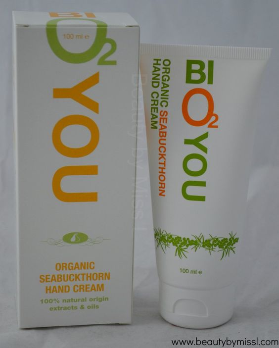 Bio2you Organic Seabuckthorn Hand Cream #review via @beautybymissl