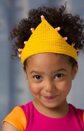 Häkelmuster für Eine Krone für eine Prinzessin