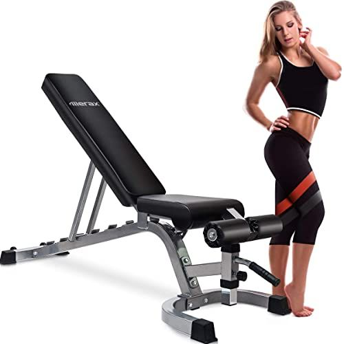 Enjoy Exclusive For Merax Weight Bench Incline Decline Flat Olympic Adjustable Utility Benches 800 Lbs Weight Capacity Home Gym Online Chicprettygoods In 2020 Adjustable Weight Bench Weight Benches Weight Bench Set