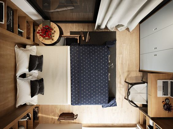 Just Because A Space Is Small And Modest Doesnu0027t Mean You Can Pack It
