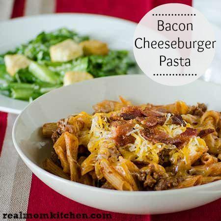 ... recipes cooking pasta recipes bacon cheeseburger pasta luck wrap