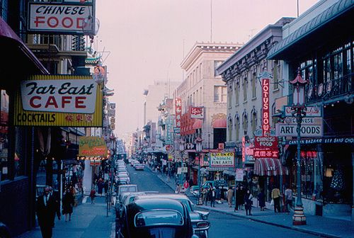 Big trouble in little China! #ridecolorfully (San Francisco - Chinatown by roger4336, via Flickr)