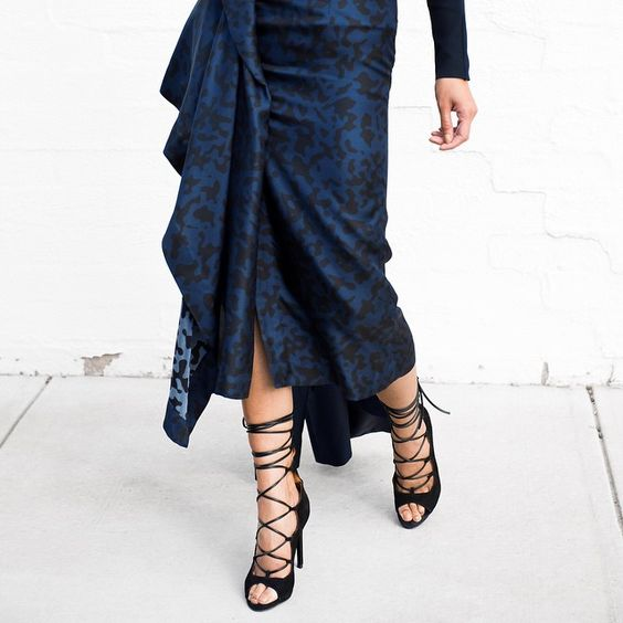 My kind of black + blue…  @micahgianneli xx