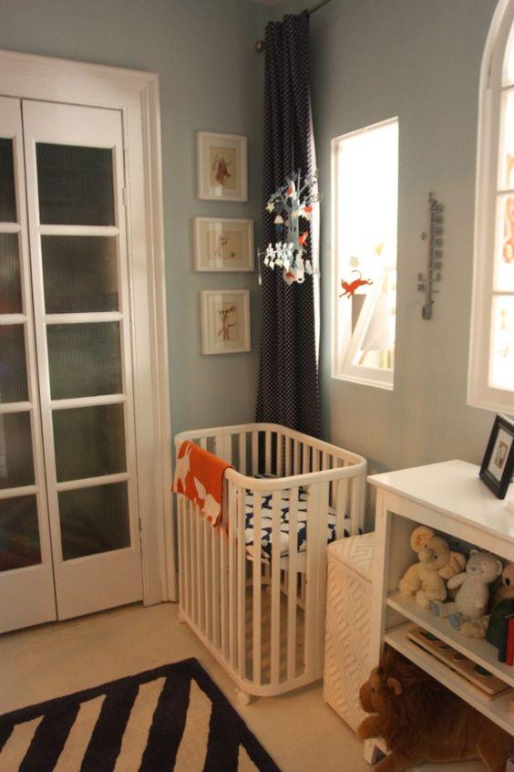 Williamsburg, Brooklyn: A Little Nursery For A Little Guy   Crib, Babies  and Nursery