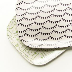 bunting beautiful...: Melamine Platters ~ Olive Manna