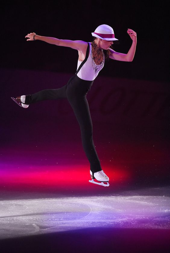 Adelina Sotonikova of Russia performs her routine during THE ICE 2014 at the White Ring on July 19, 2014 in Nagano, Japan. (July 18, 2014 - Source: Atsushi Tomura/Getty Images AsiaPac)  (688×1024)