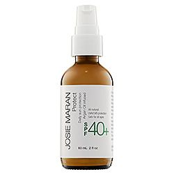 Josie Maran Protect Daily Sun Protection Argan Oil (aka Morrocan oil) Infused SPF 40- All natural sunscreen.
