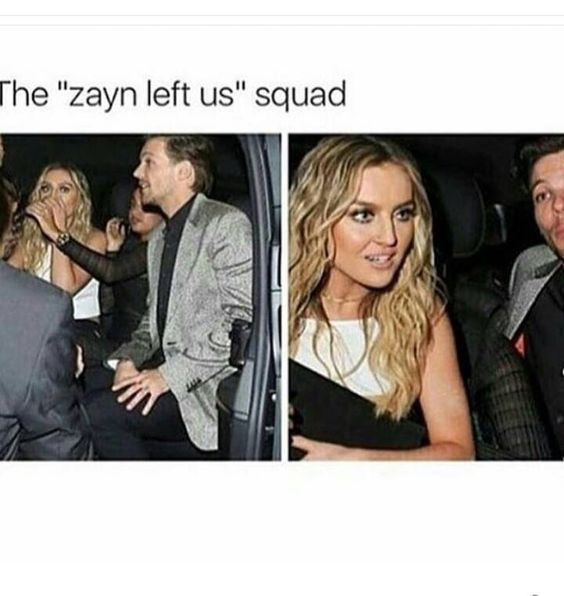 Perrie Edwards and Louis Tomlinson
