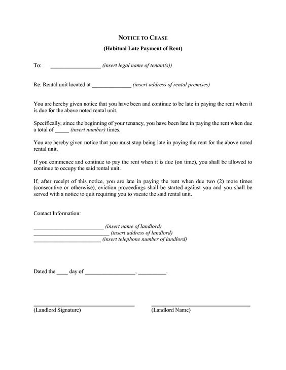 Apartment Lease Non Renewal Letter Template