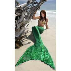 Imagine, a mermaid tail tailored just for you.  I need one of these...or a dozen.