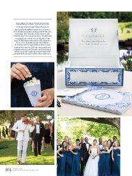 Martha Stewart Weddings Spring 2016 Spring 2016: Nothing But Blue Skies