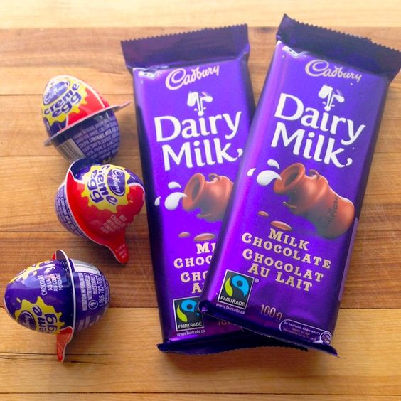 What country makes the best Dairy Milk bar? Canada!