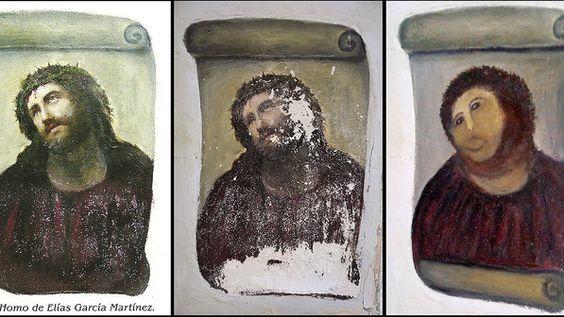 Pintura e restauração de Elías García Martínez