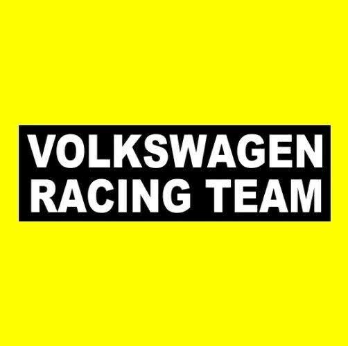 Volkswagen Racing Team Window Decal Bumper Sticker Funny Jdm Street Sign Vinyl Na Bumper Stickers Sticker Sign Conservative Bumper Sticker
