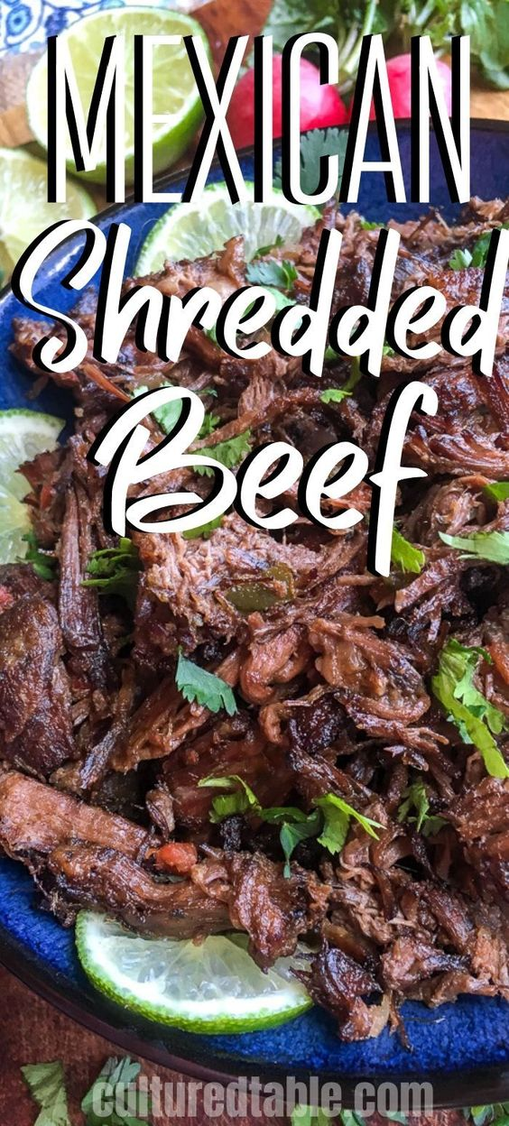 Slow Cooker Mexican-Style Shredded Beef for Tacos