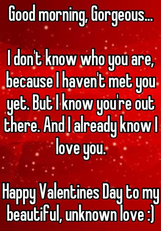valentines quotes unknown