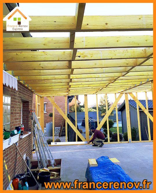 Extension Ossature Bois 50m A Douai Ossature Bois Maison Ossature Bois Extension Maison
