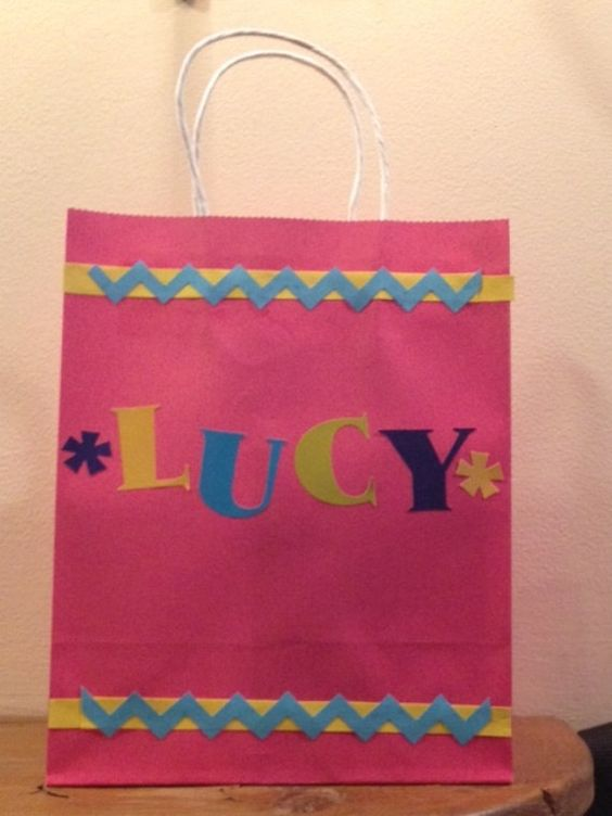 Personalized Gift Bags by MerciBeaucoupGifts on Etsy, $3.00