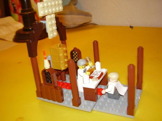 Lego First Holy Communion Scene For Cake Topper Emilio