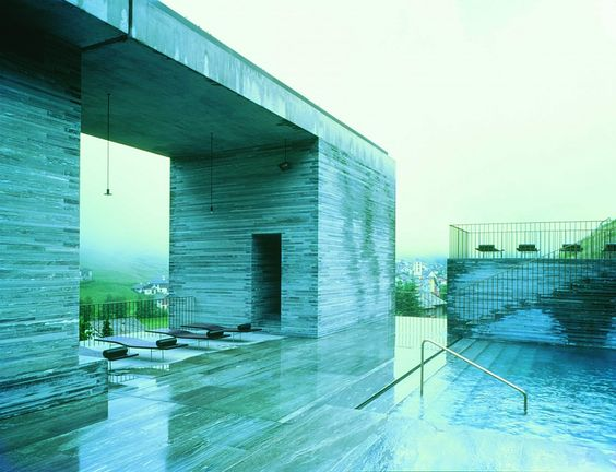 peter zumthor - thermal baths