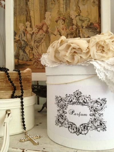 17 Best Images About Adeline Country Cottage Hat/storage Boxes On Pinterest  | Yellow Hats, Pink Roses And Spring Garden