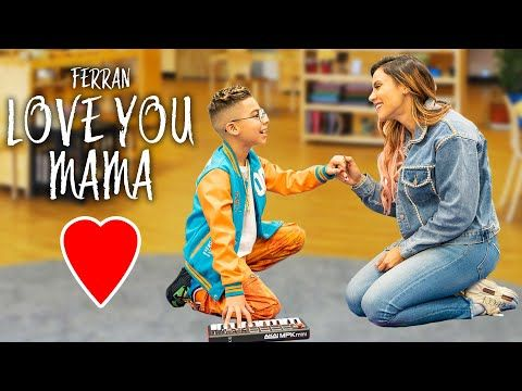 Love You Mama Official Music Video The Royalty Family Youtube I Love You Mama Family Songs Music Videos