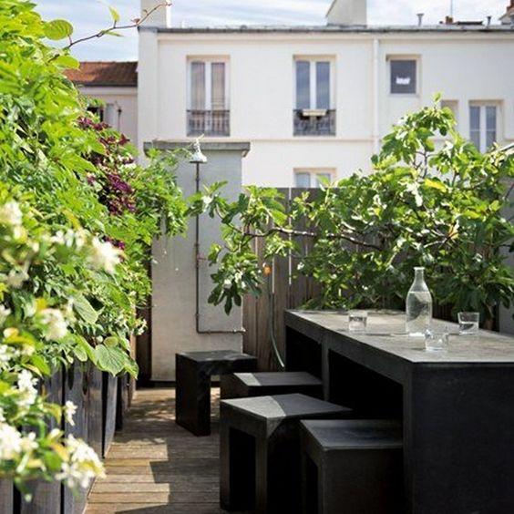 Idées Déco pour une terrasse d´été, déco de la terrasse ...