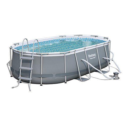 Bestway 197030 Power Steel Pool Oval Pool Bestway Pool