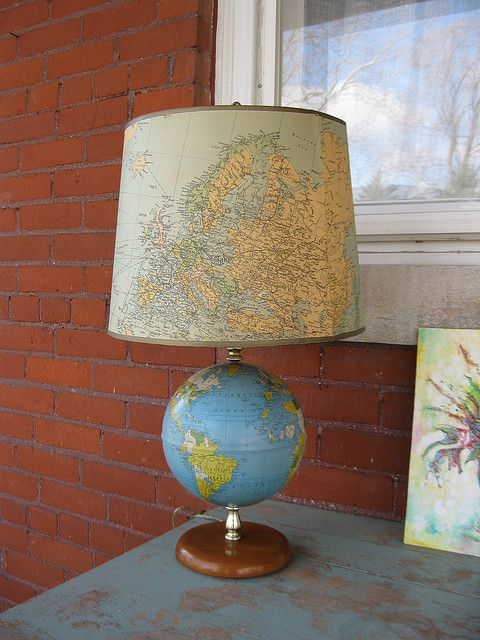 Globe Lamp | Flickr - Photo Sharing!: