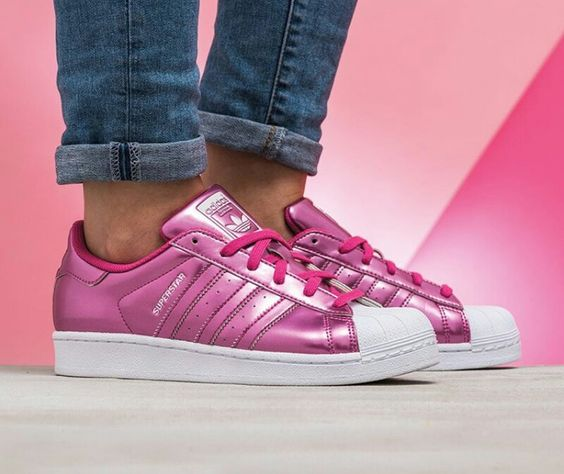 Adidas Superstar Pink: