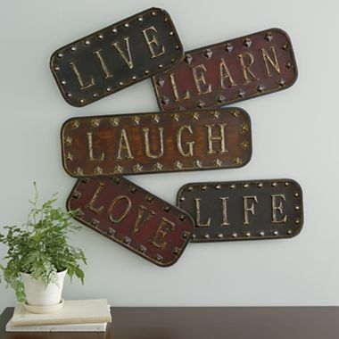 Wall Sconces At Jcpenney : Love life, Art and Metal walls on Pinterest